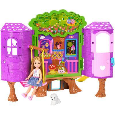 Muñeca Barbie Chelsea Casa Del Árbol