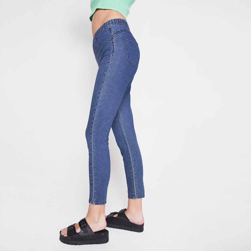 Jeans Tiro Alto Super Skinny Mujer Freedom image number 4.0