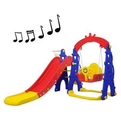 Resbalin Talbot Columpio Musical Colores
