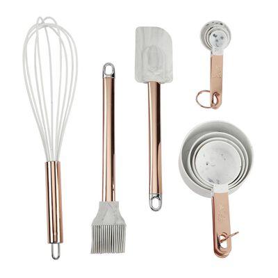 Set De Repostería A Kitchenware Prep Marble / 11 Piezas
