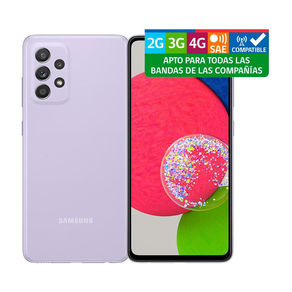 Smartphone Samsung Galaxy A52S Morado / 128 Gb / Liberado image number 7.0