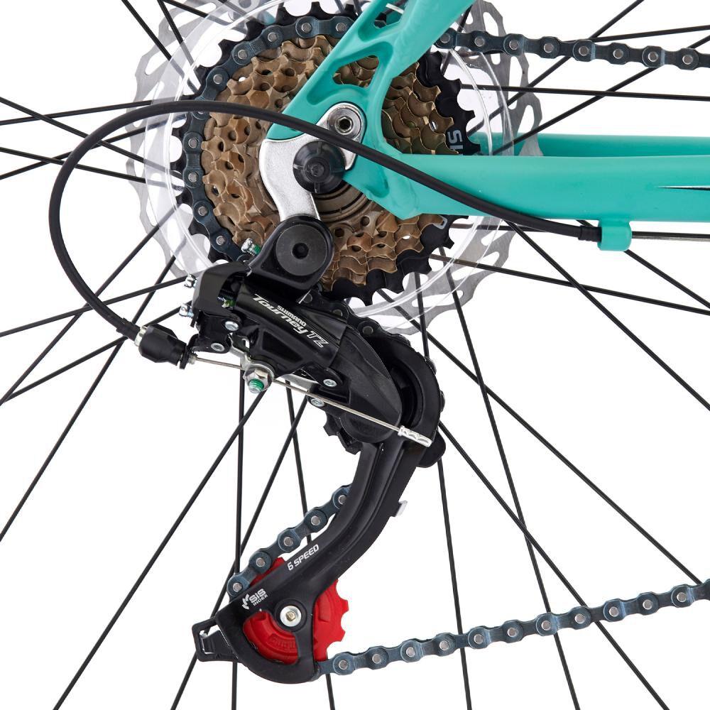 Bicicleta Mountain Bike Bianchi Stone Mountain 29 Sx Alloy Size L Negro Semi Matte / Celeste Bianchi / Aro 29 image number 3.0