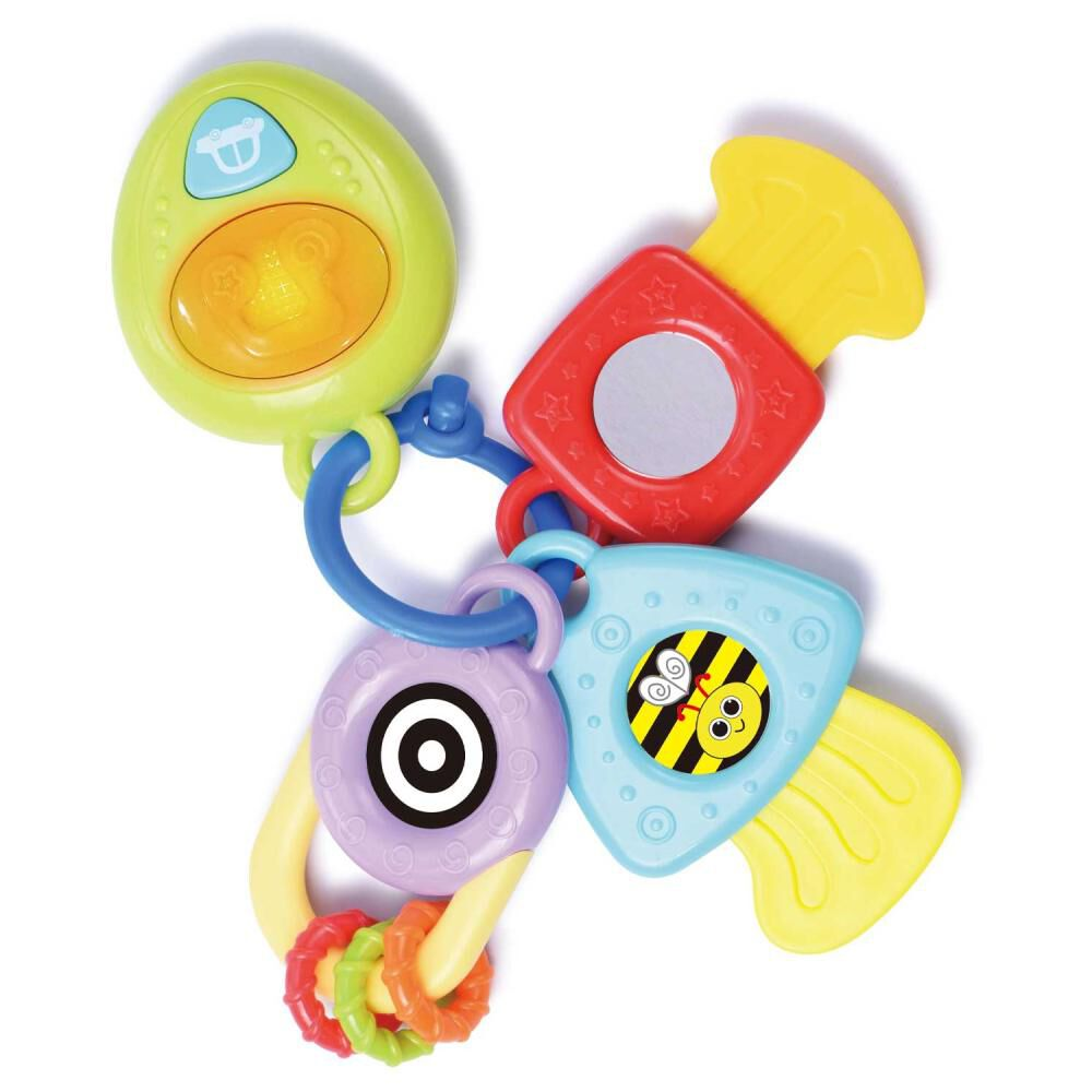 Juego Didáctico Hitoys Teething Keys image number 0.0