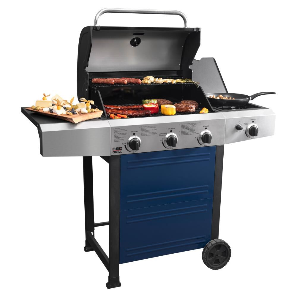 Parrilla A Gas Bbq Grill Bq304gcblue image number 3.0
