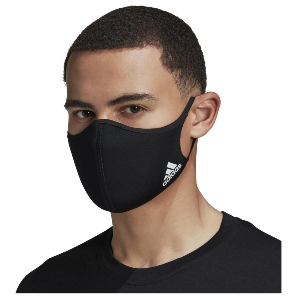Mascarilla Protectora Hombre Adidas M/l / Pack X3 image number 6.0