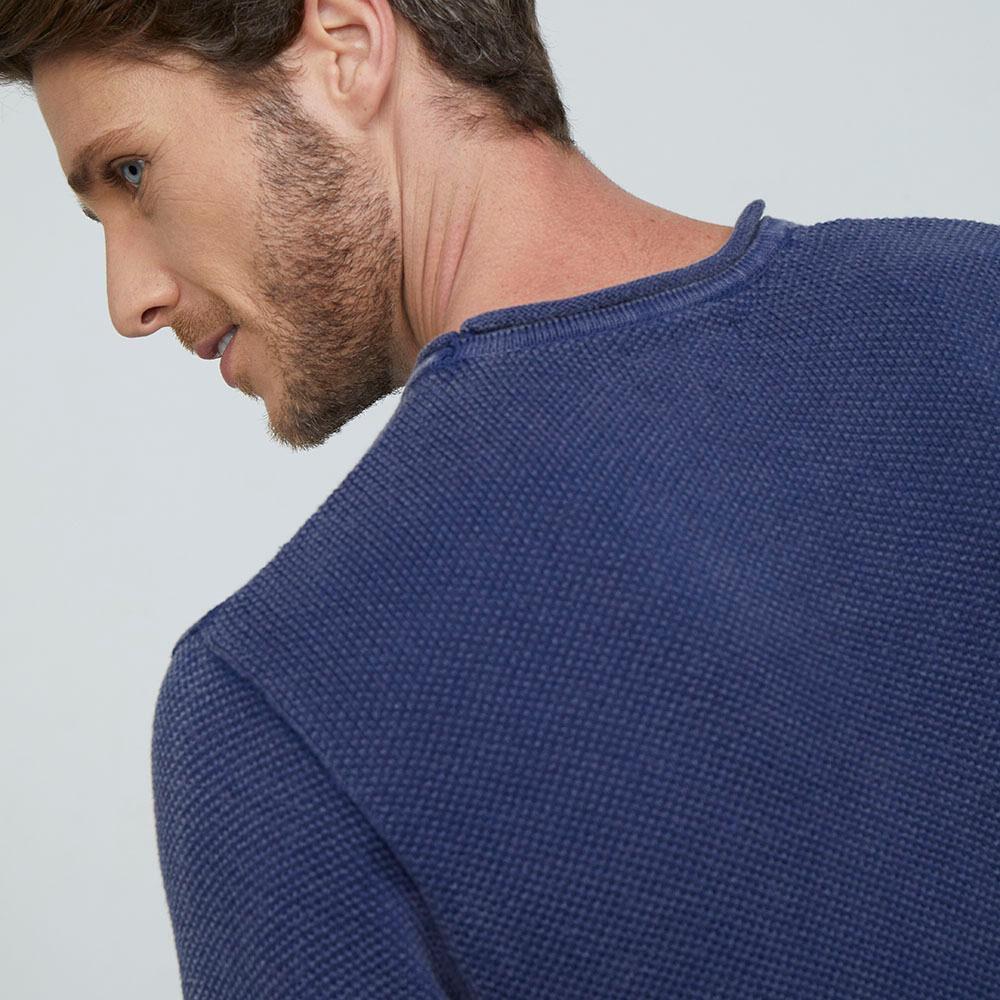 Sweater  Hombre Az Black image number 3.0