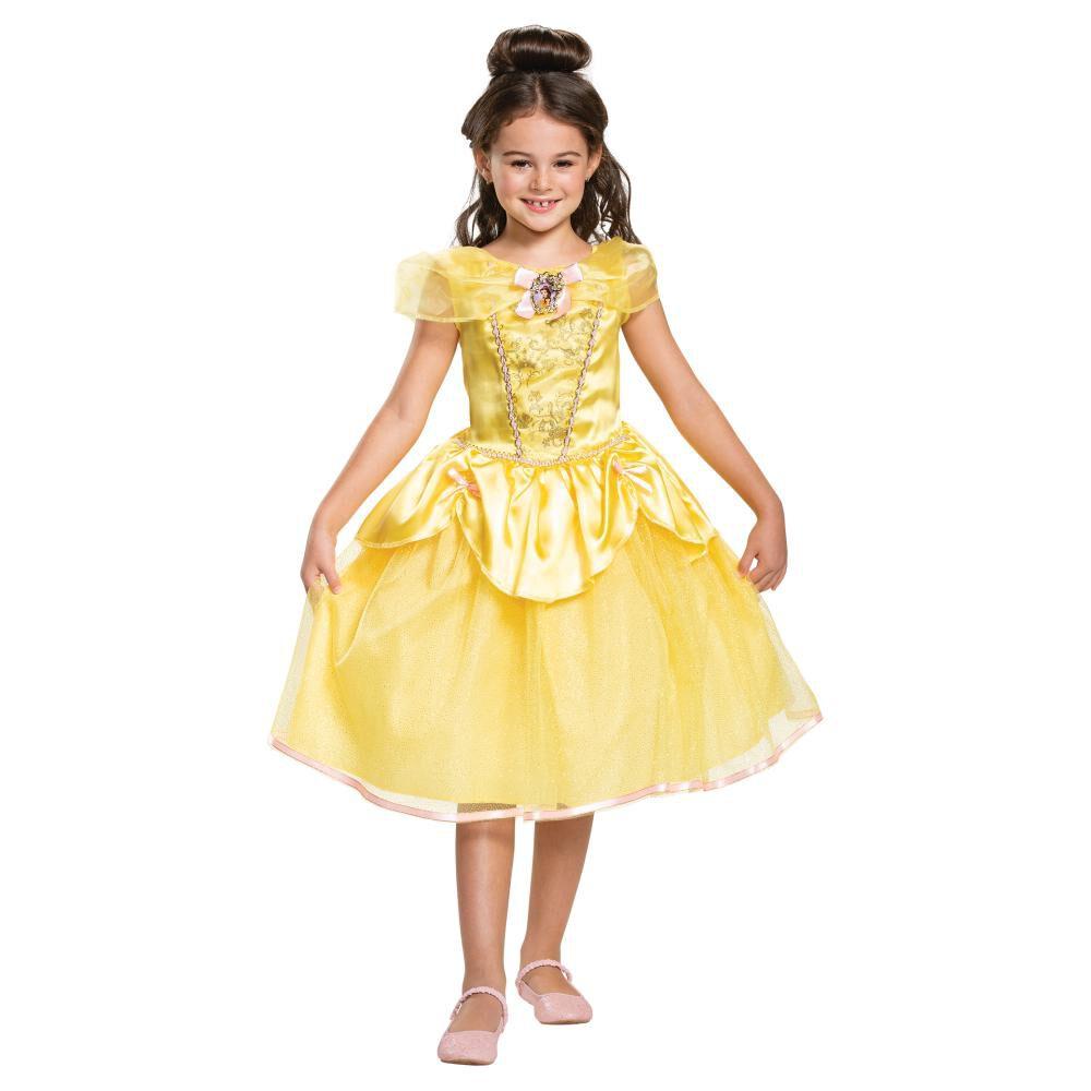 Disfraz Para Niña Princesas Disney Bella image number 0.0