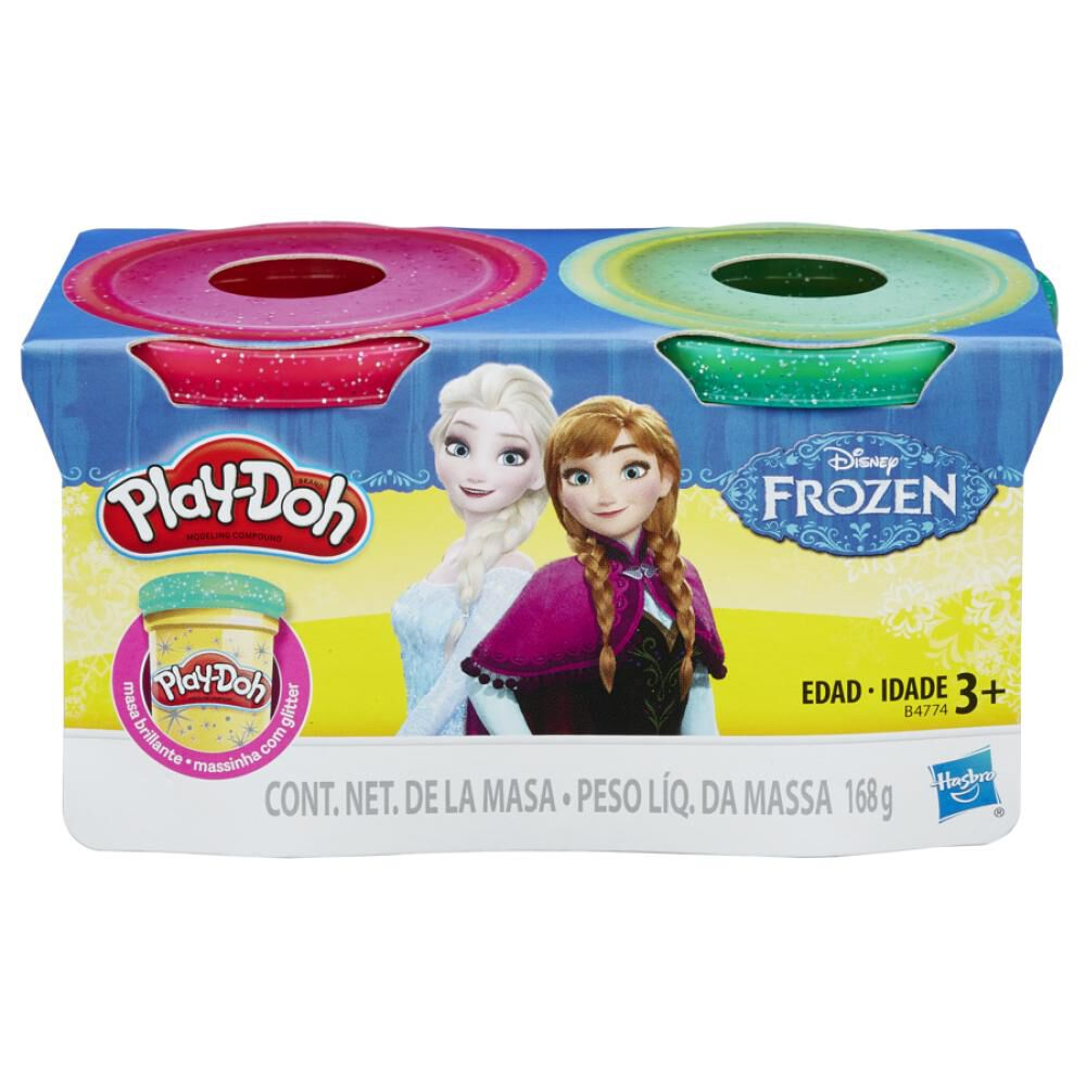 B4774 Play-Doh Frozen 2 Pack image number 0.0