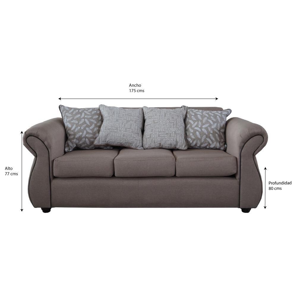 Sofa Seccional Elegant Detail Moscu image number 3.0