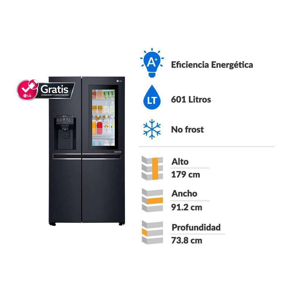 Refrigerador Side by Side LS65SXTAFQ / 601 litros image number 1.0