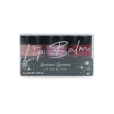 Set De Labios Loveable Luxuries Lip Balm