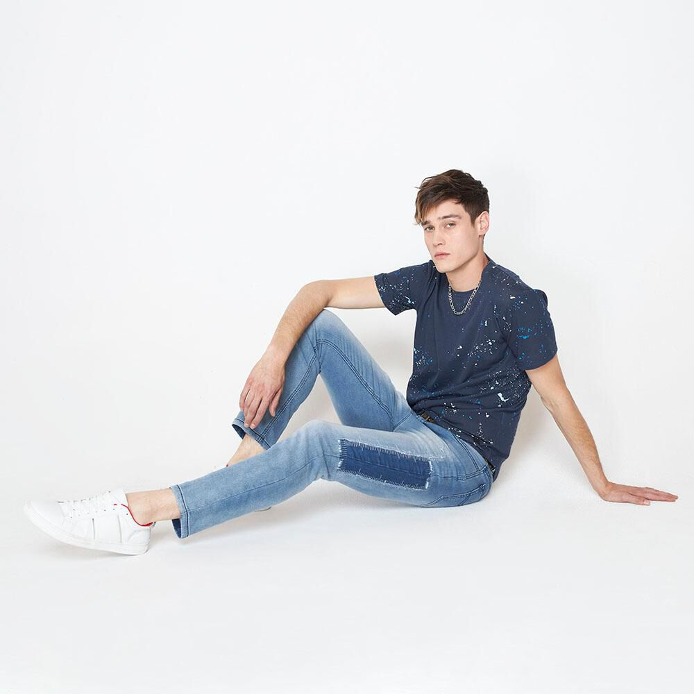 Jeans Jogger Hombre Rolly Go image number 1.0