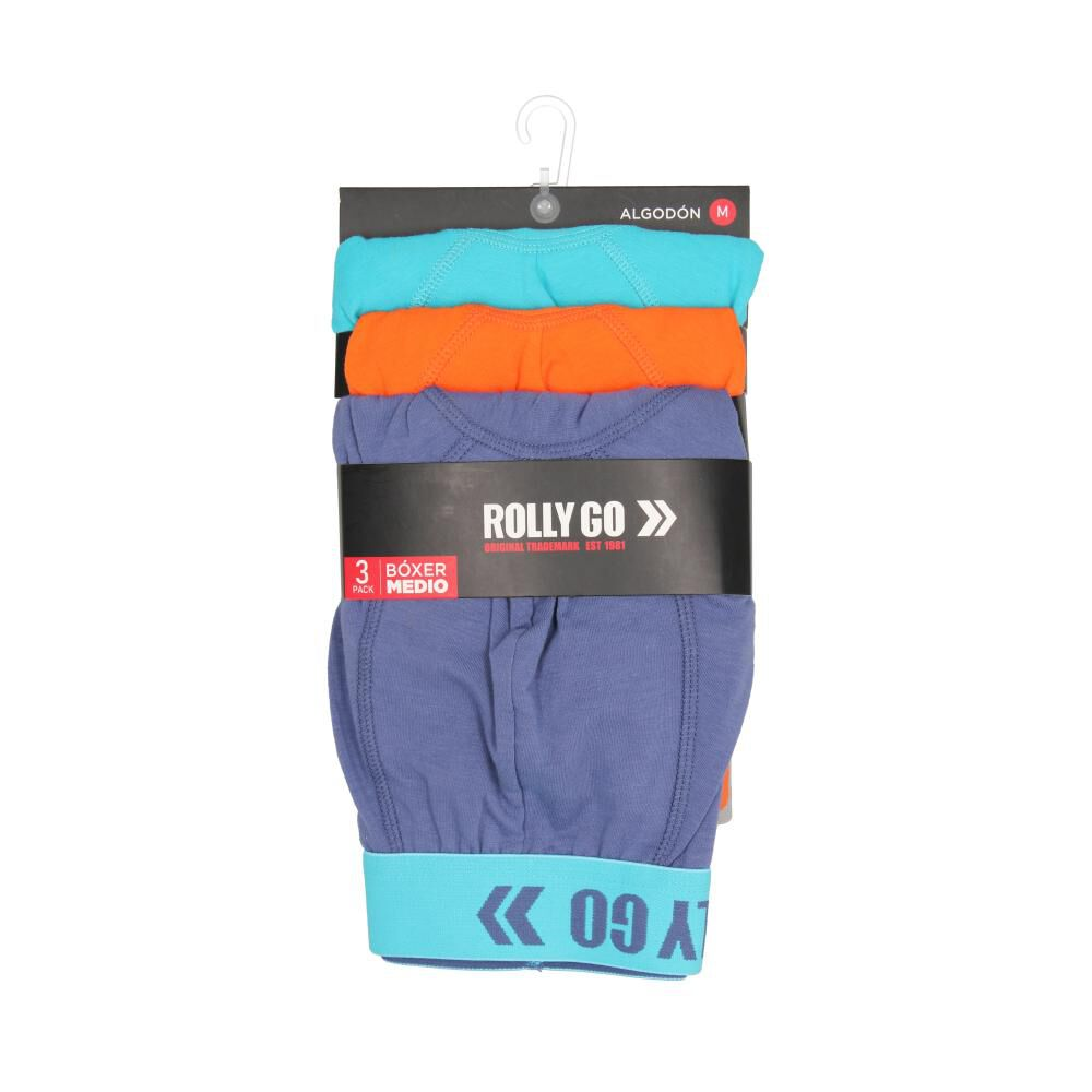 Pack Boxer Hombre Rolly Go / 3 Unidades image number 0.0