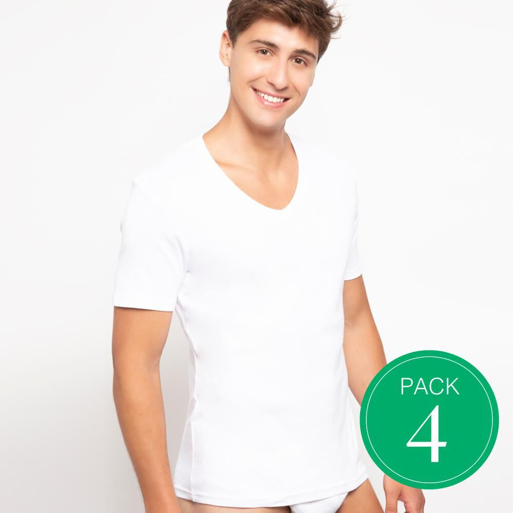 Camiseta Hombre Palmers / 4 Unidades image number 0.0