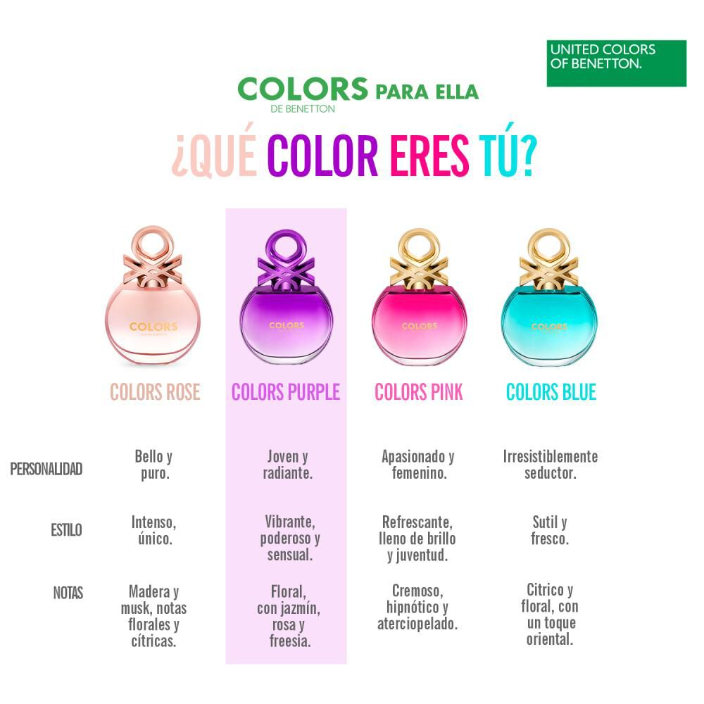 Perfume Colors Purple Woman Benetton / 80 Ml / Edt image number 6.0