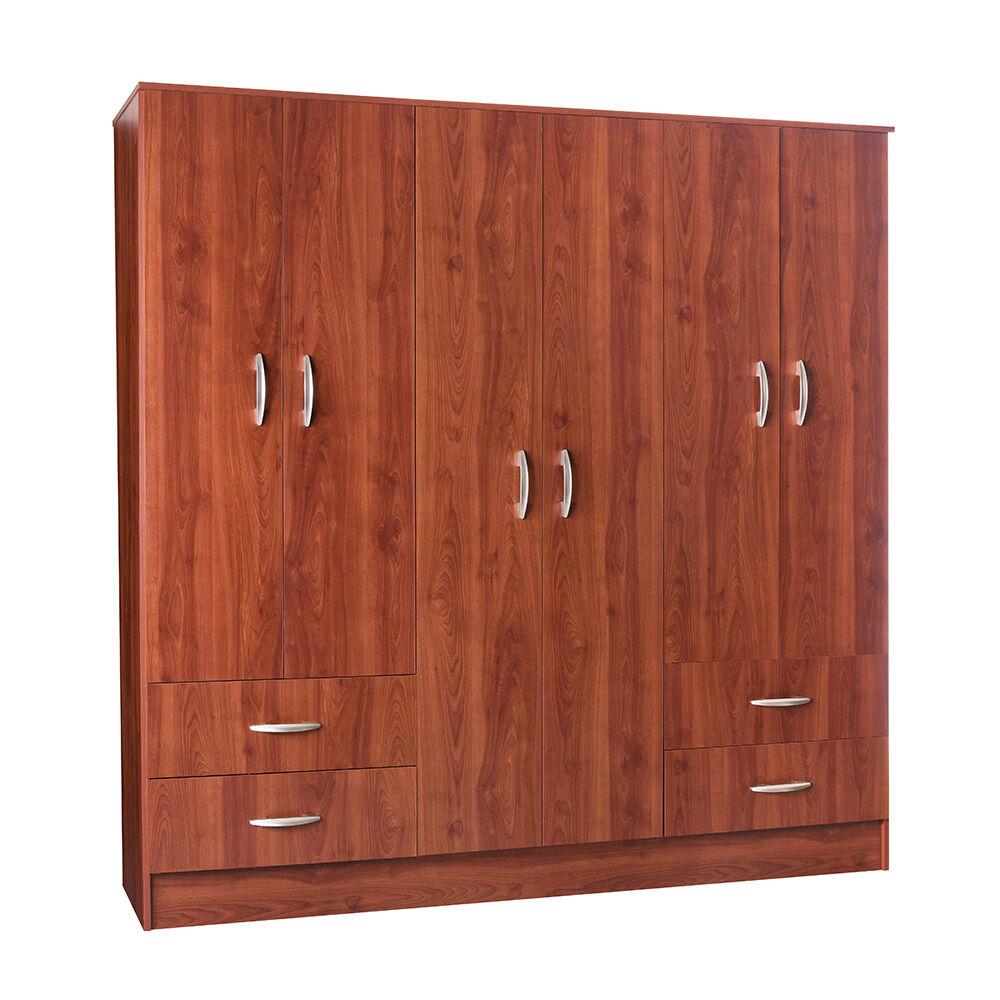 Closet Cic Maipo / 6 Puertas / 4 Cajones image number 1.0