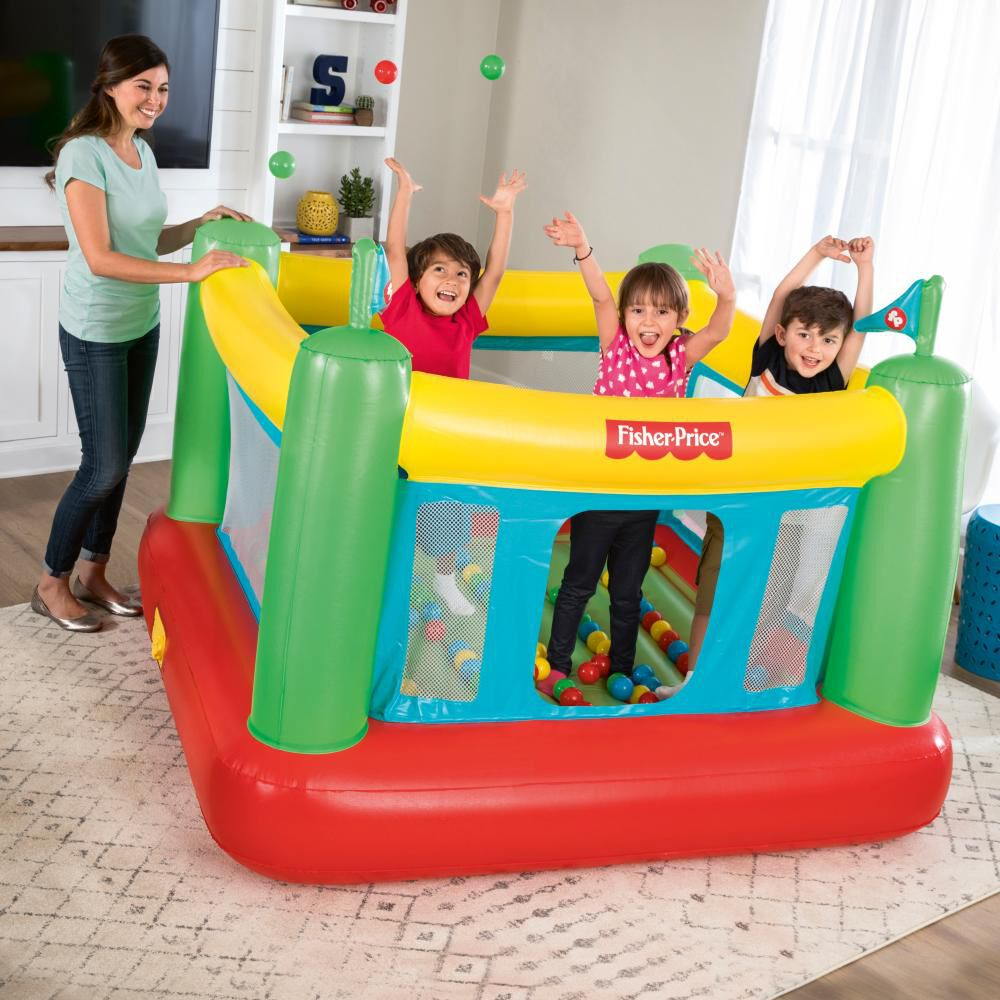 Castillo Inflable Eléctrico Fisher Price Bouncesational image number 1.0