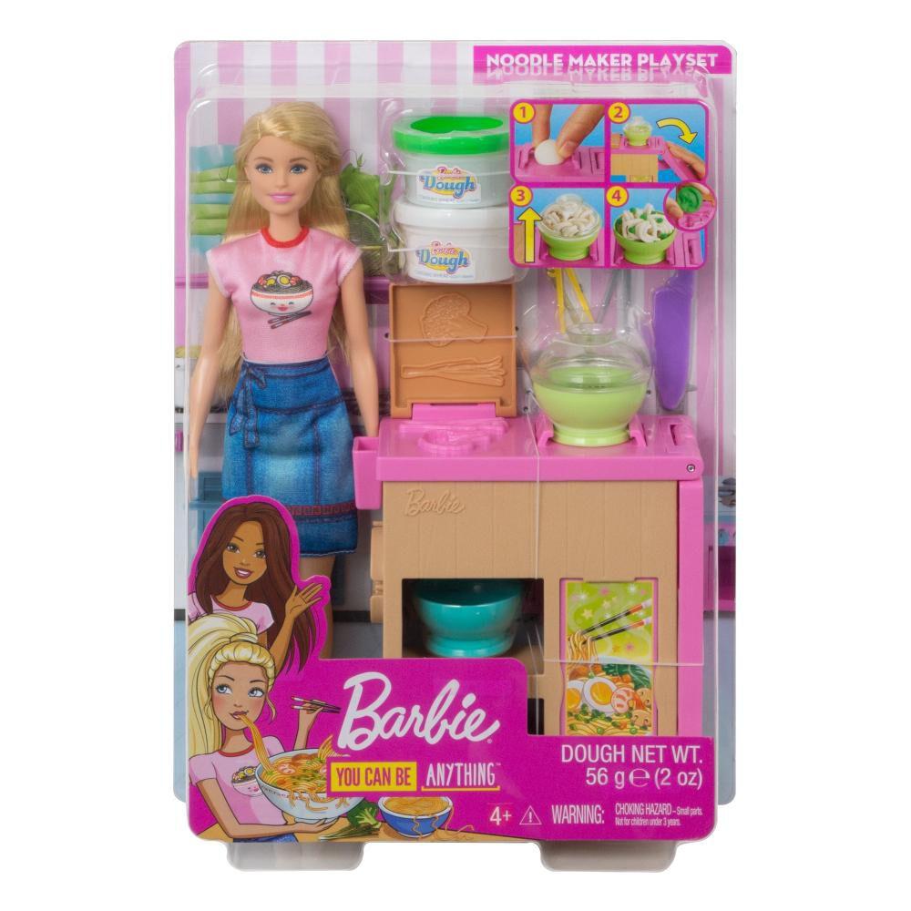 Muñeca Barbie Cocina De Fideos image number 6.0