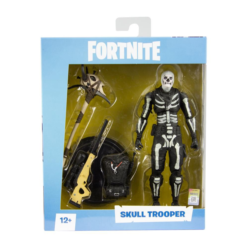 Figura De Accion Fortnite Skull Trooper image number 2.0
