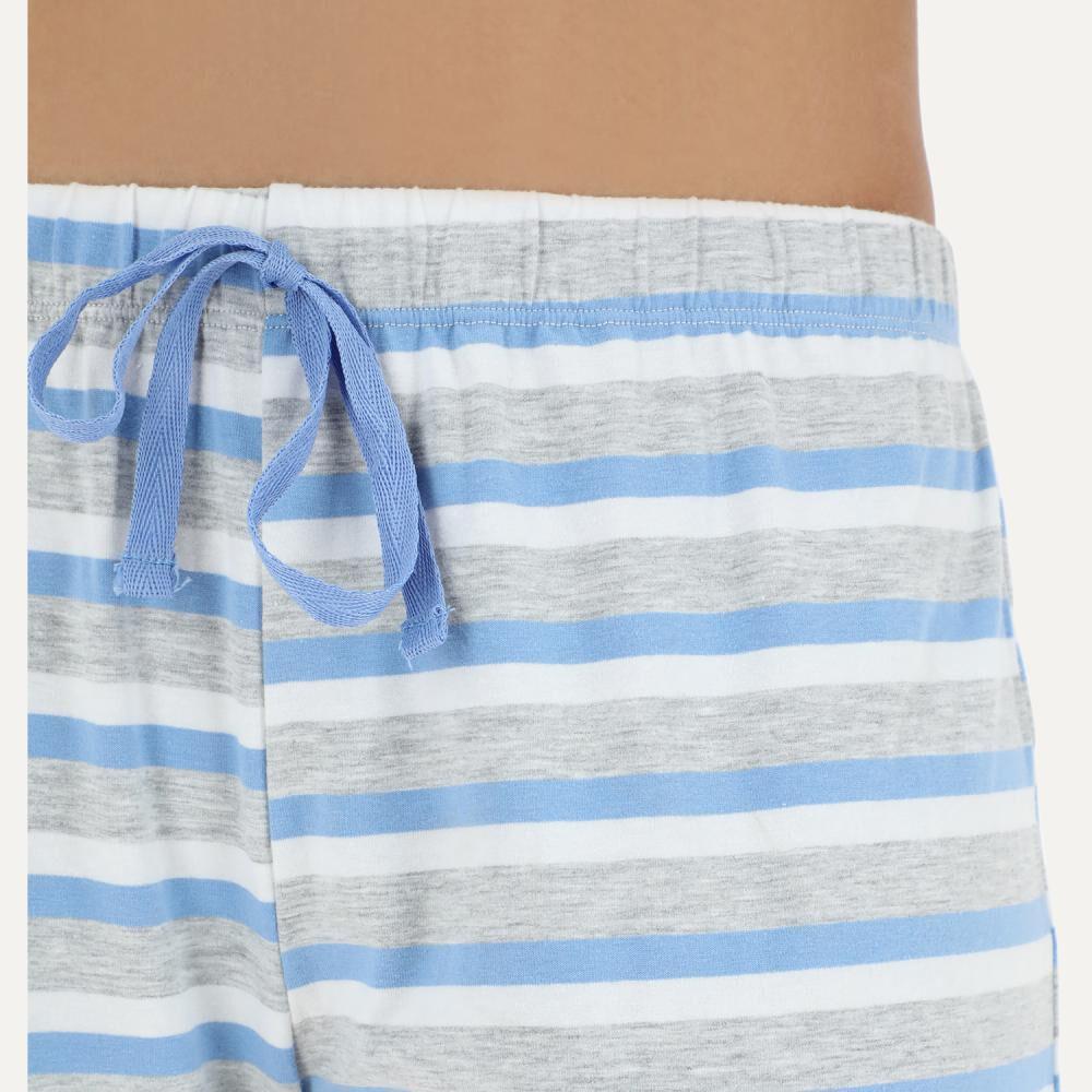 Pijama Mujer Flores / 2 Piezas image number 3.0