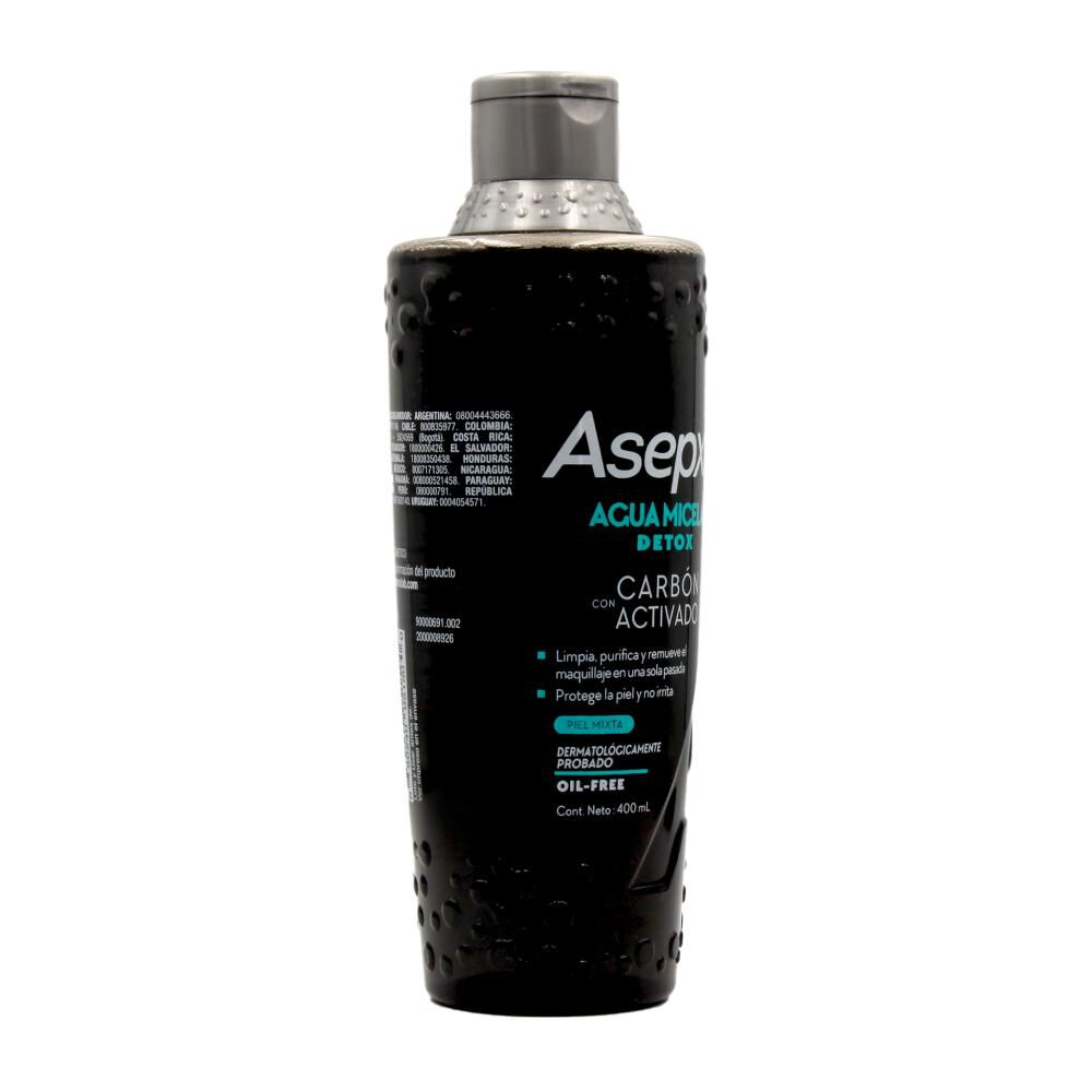 Agua Micelar Asepxia / 400 Ml image number 1.0