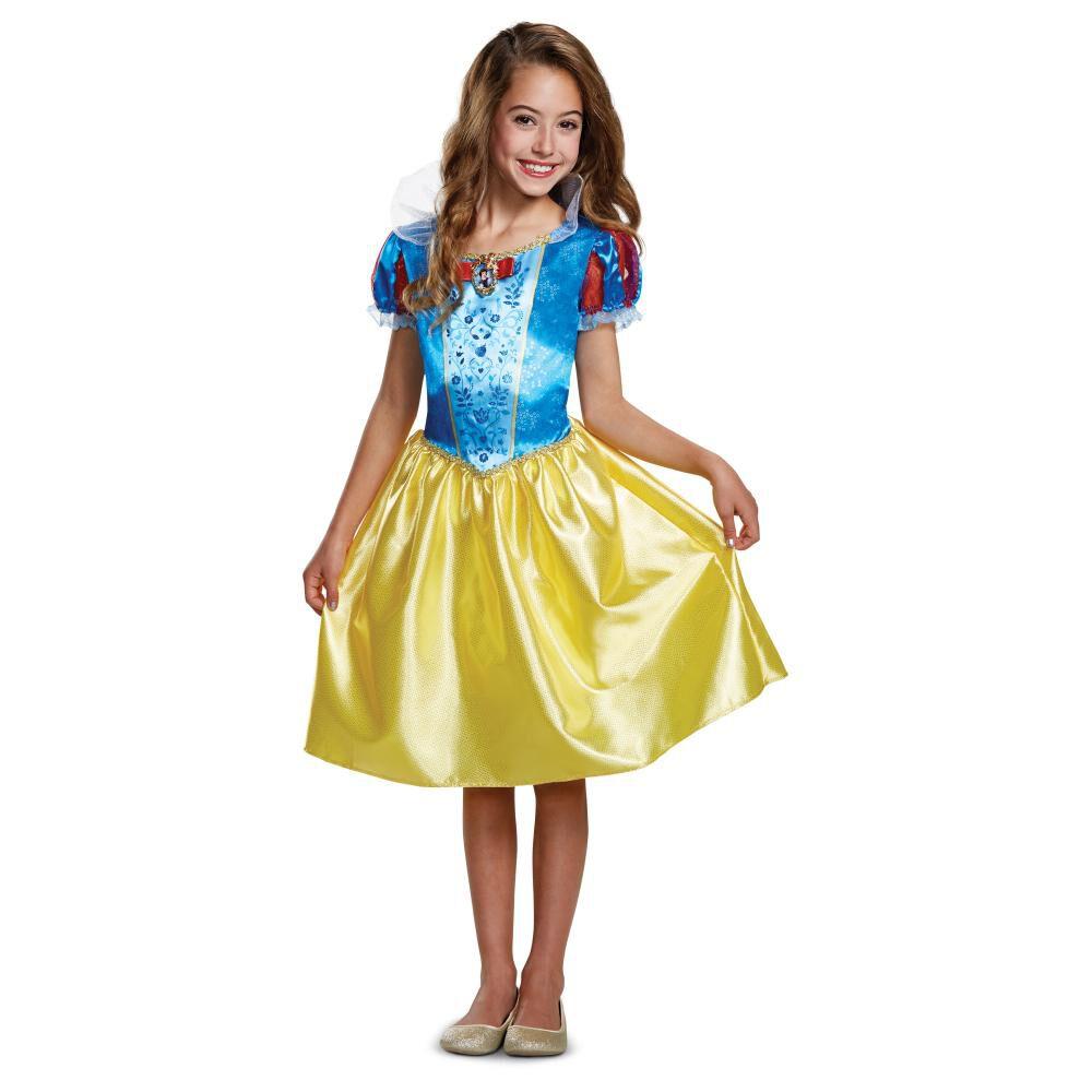 Disfraz Para Niña Princesas Disney Blancanieves image number 0.0