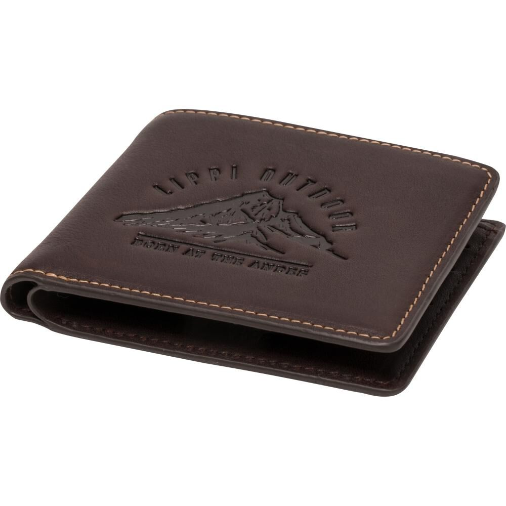 Billetera Unisex Lippi Classic Leather Wallet image number 0.0
