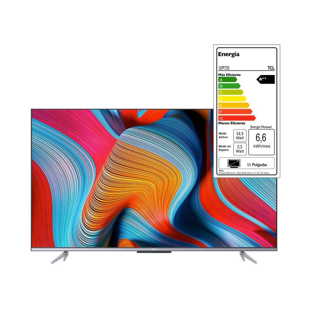 "Led Tcl 55p725 / 55 "" / Ultra Hd / 4k / Smart Tv image number 8.0"