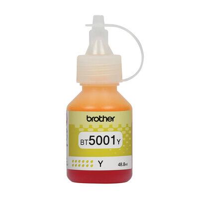 Botella De Tinta Brother Amarilla Bt5001Y
