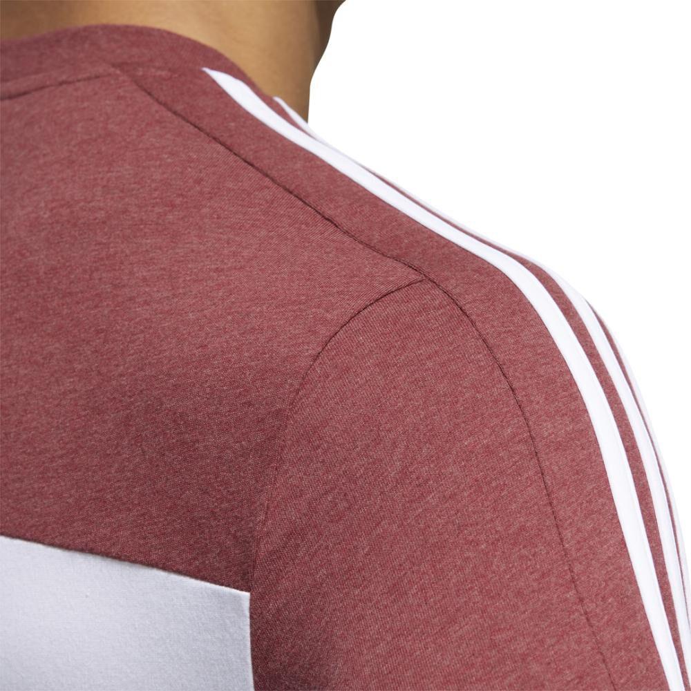 Polera Hombre Adidas Camiseta Essentials Tape image number 8.0
