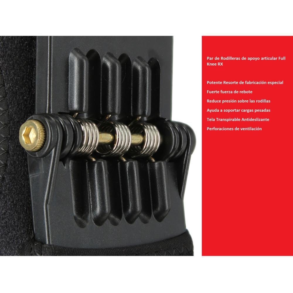 Par De Rodilleras De Apoyo Articular Bodytrainer Full Knee Rx image number 6.0