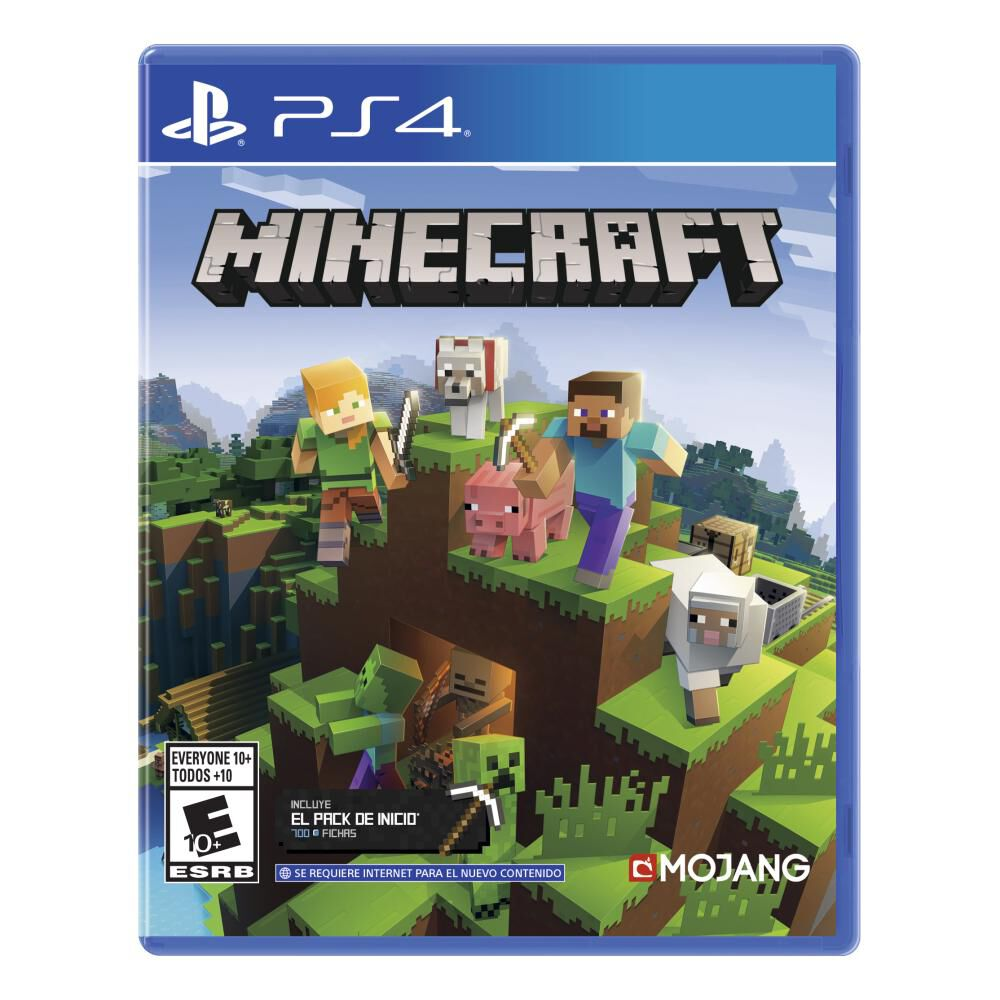 Videojuego Ps4 Minecraft Starter Collection image number 1.0