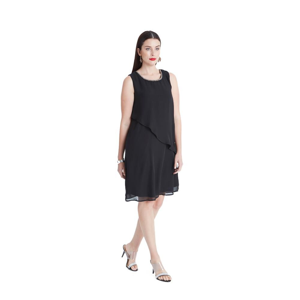 Vestido De Fiesta Mujer Lorenzo Di Pontti image number 3.0