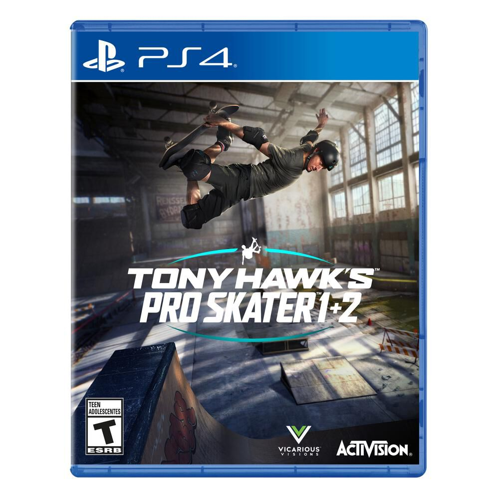 Juego Ps4 Sony Hawk Pro Skater 1+2 image number 0.0