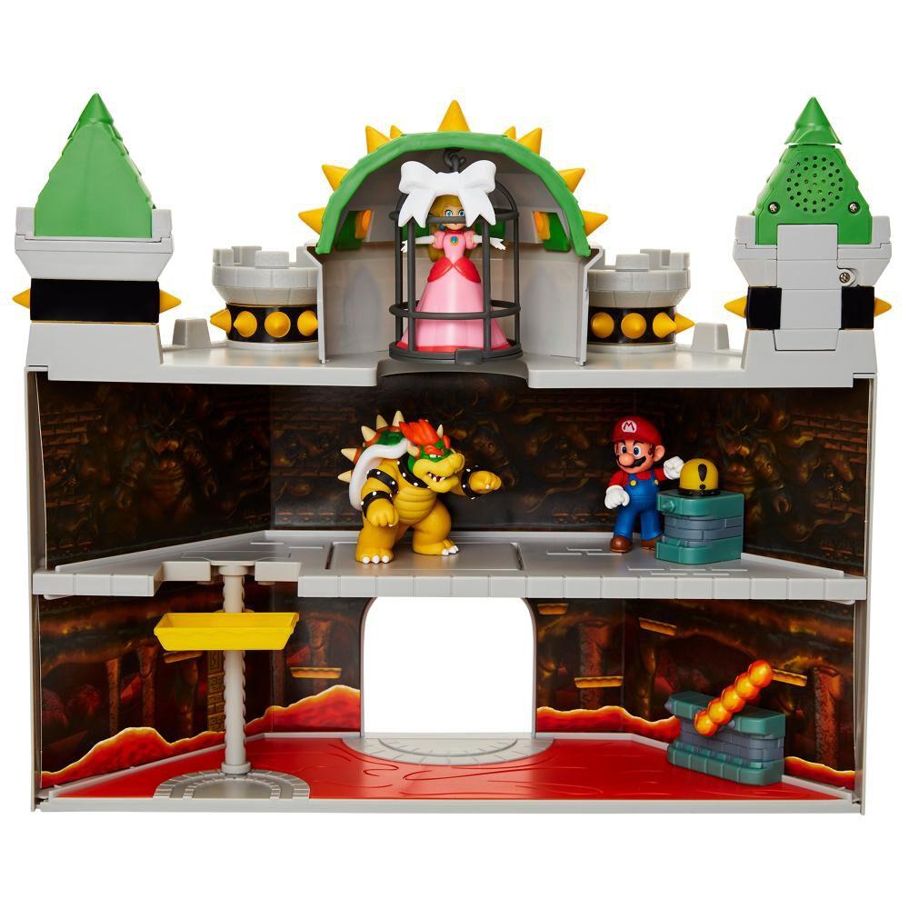 Set De Juguetes Nintendo Super Mario Castillo Bowser image number 2.0