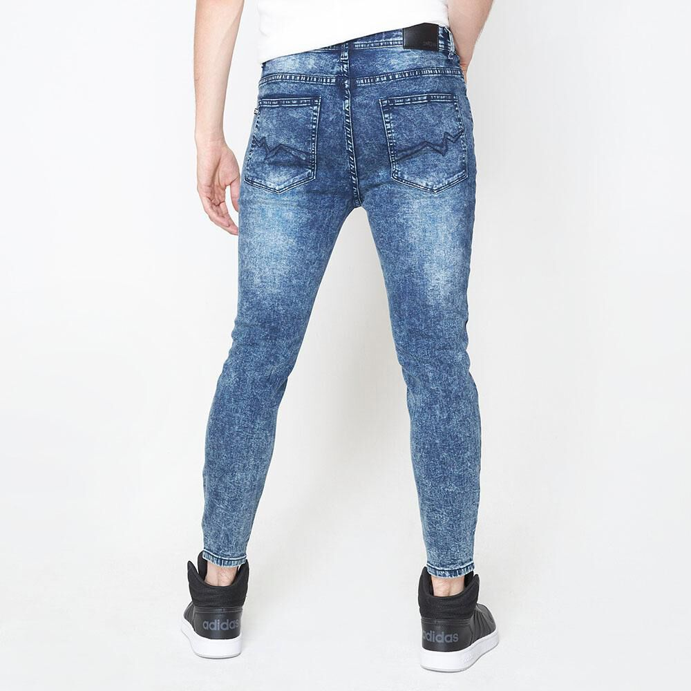Jeans Super Skinny Hombre Rolly Go image number 2.0