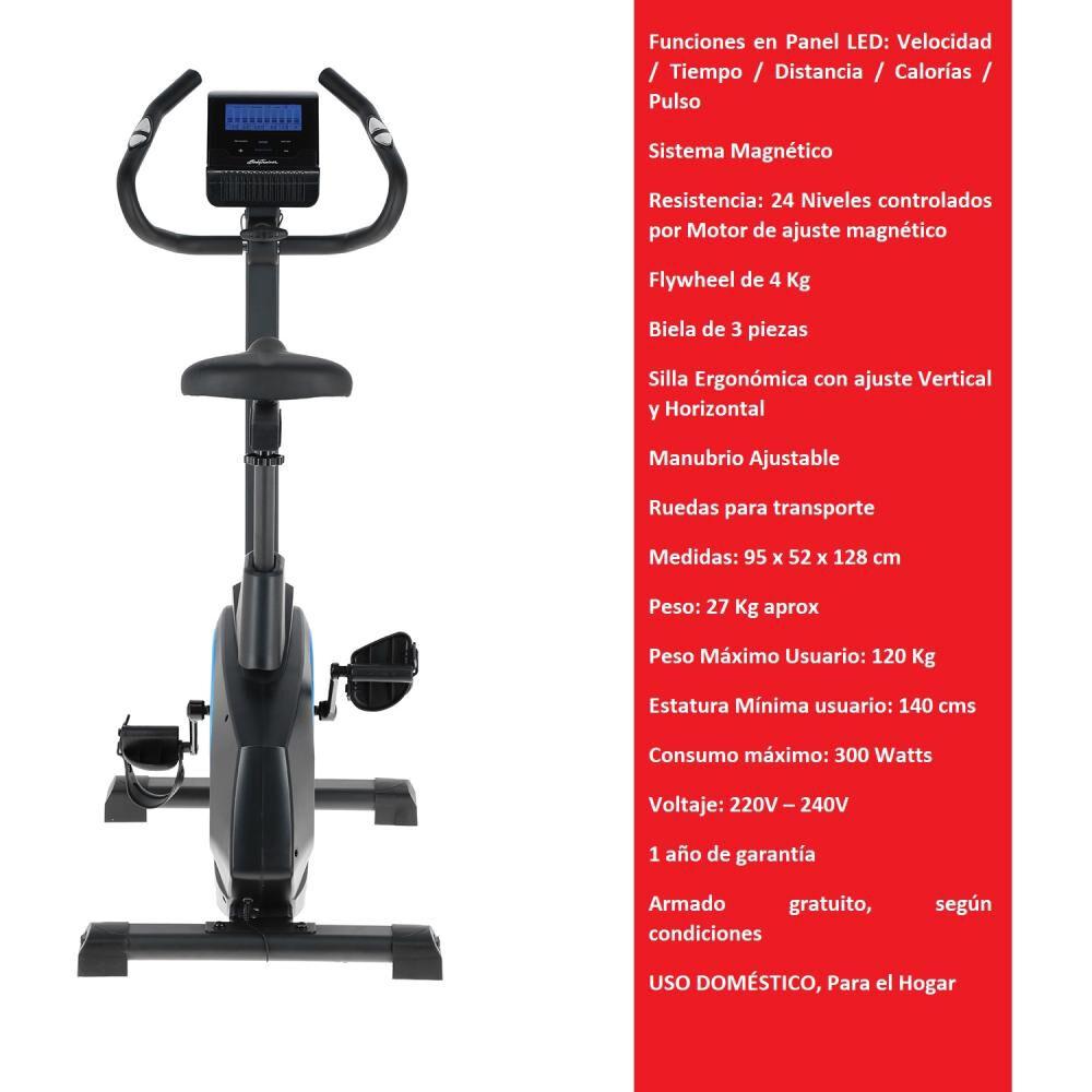 Bicicleta Estática Magnética Bodytrainer Bes 500 Mgntc image number 1.0