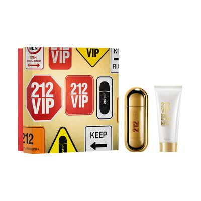 Carolina Herrera 212 Vip Edp 50 Ml + Body Lotion 75 Ml
