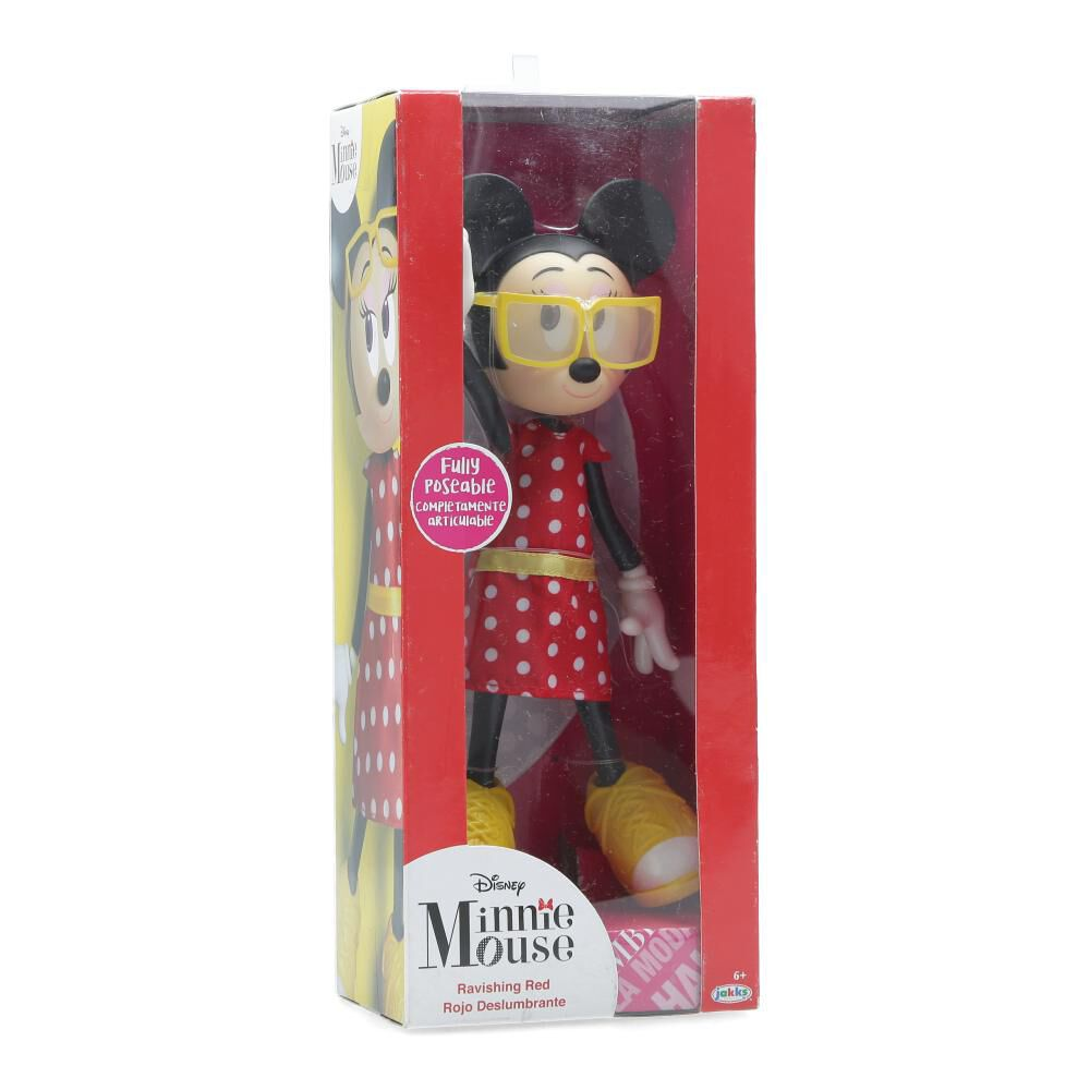 Muñeca Minnie Mouse Fashion Doll image number 0.0