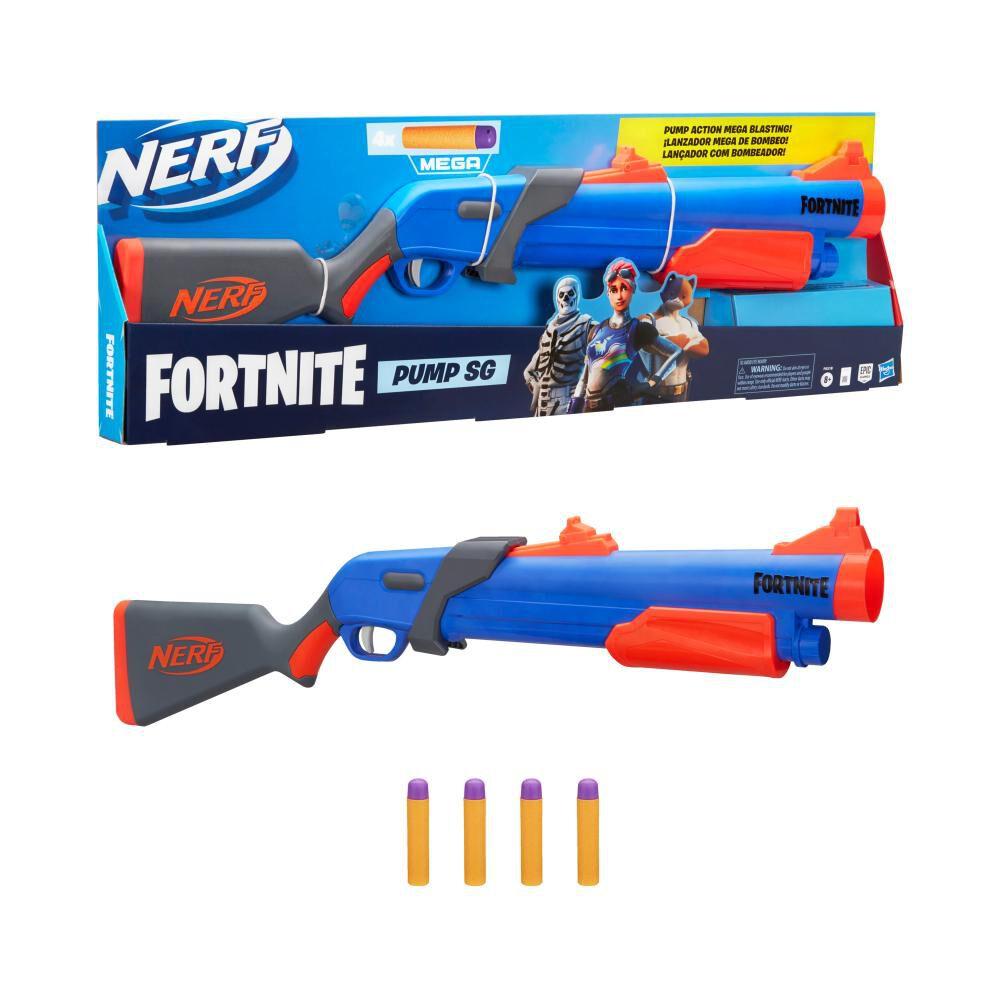 Lanzador De Dardos Nerf Pump Sg image number 4.0