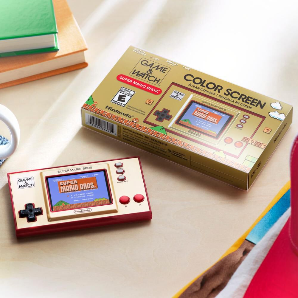 Mini Consola Game & Watch Super Mario Bros image number 2.0