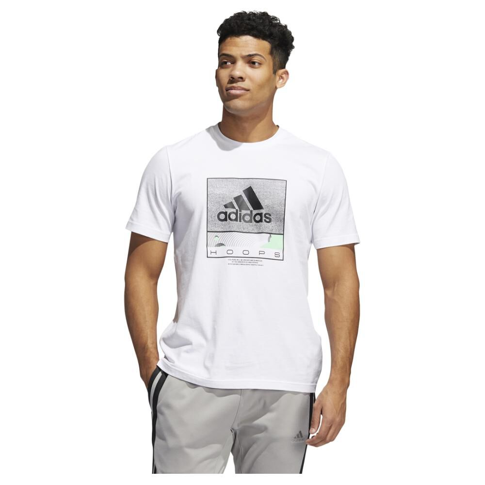 Polera Hombre Adidas Future Hoops Graphic image number 0.0