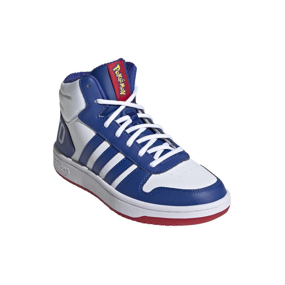 Zapatilla Juvenil Unisex Adidas Hoops Mid 2.0 K image number 0.0