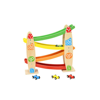 Juguete De Madera Puente De Autitos
