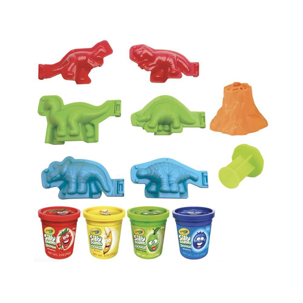 Plasticinas Crayola Dinosaurios image number 1.0