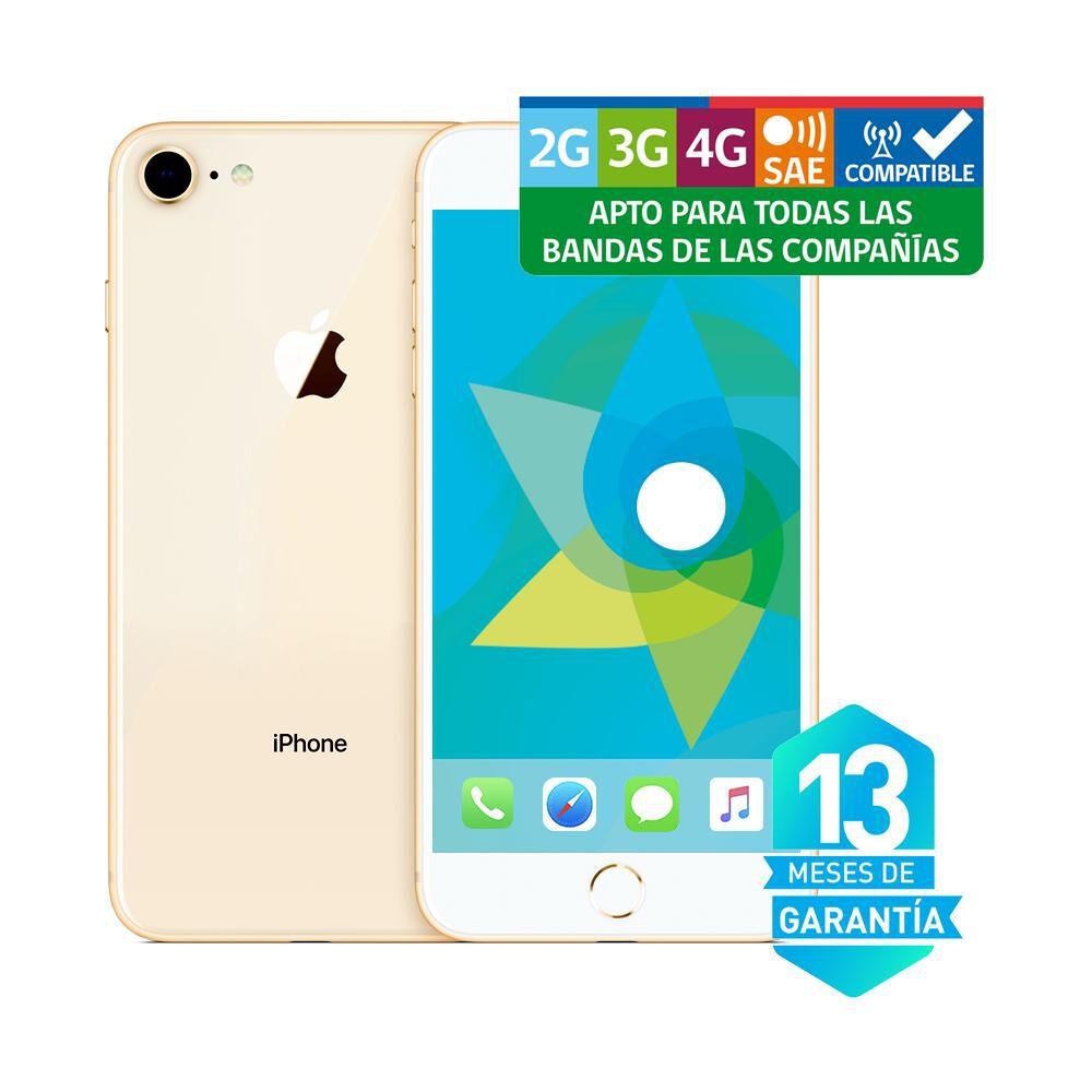Smartphone Iphone 8 Reacondicionado Dorado 64 Gb  / Liberado image number 3.0
