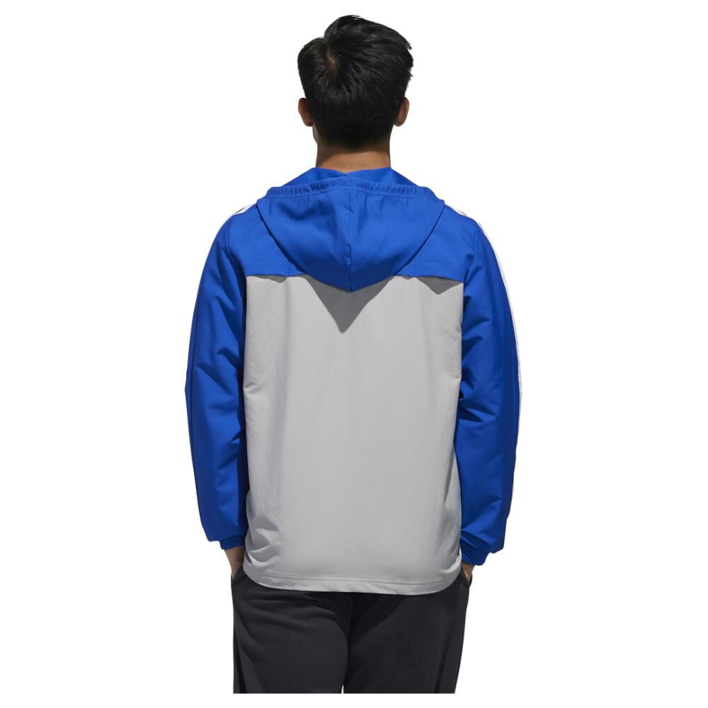 Polerón Deportivo Hombre Adidas Essentials Windbreaker image number 3.0