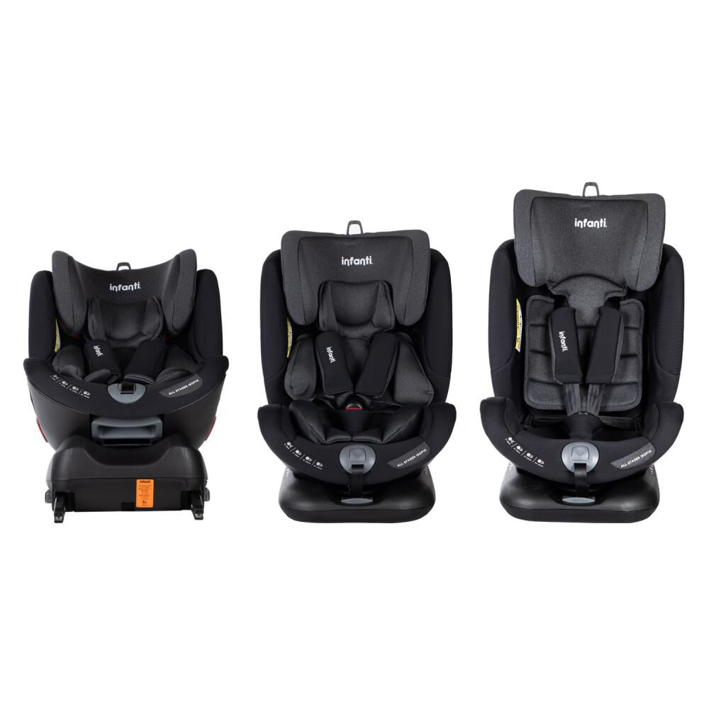 Silla De Auto Infanti Convertible All Stages Isofix Pb image number 7.0