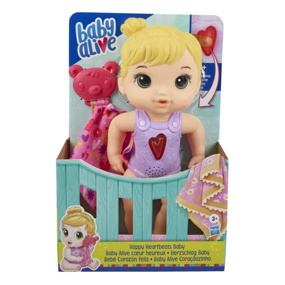 Muñeca Baby Alive Bebé Corazón Feliz image number 0.0