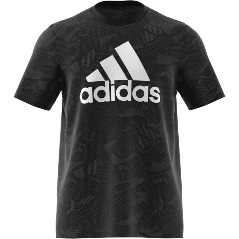 Polera Hombre Adidas Essentials Aop T-shirt image number 4.0